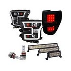 Headlight Bulb, LED Light bar, Projector Headlights, Tailights