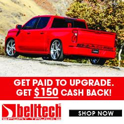 Belltech $150 Rebate