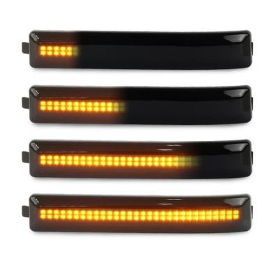 Scanning LED MIrror Lights